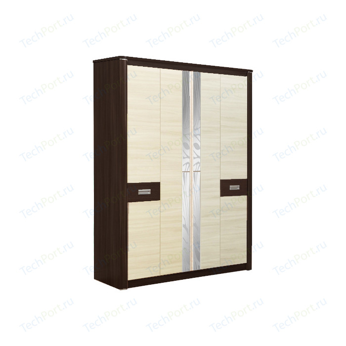 Шкаф для одежды Олимп 06.235 Стелла венге/дуб линдберг
