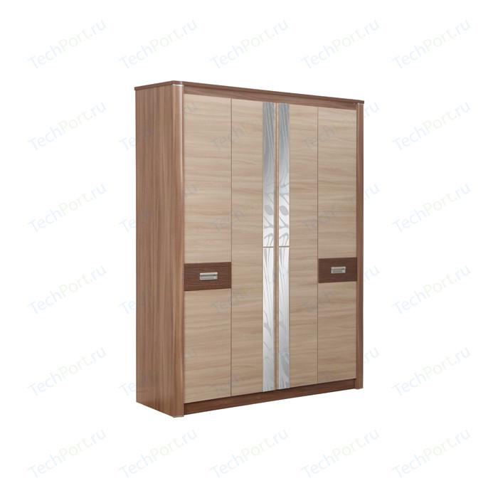 Шкаф для одежды Олимп 06.235 Стелла ясень темный/светлый