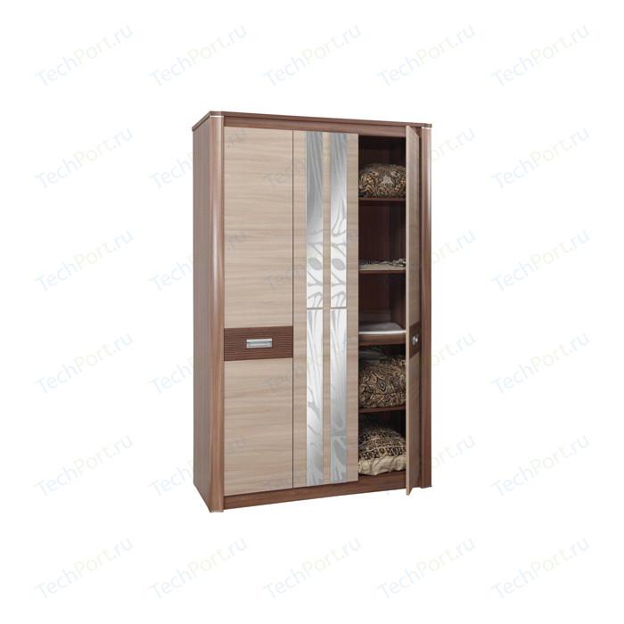 Шкаф для одежды Олимп 06.236 Стелла ясень темный/светлый