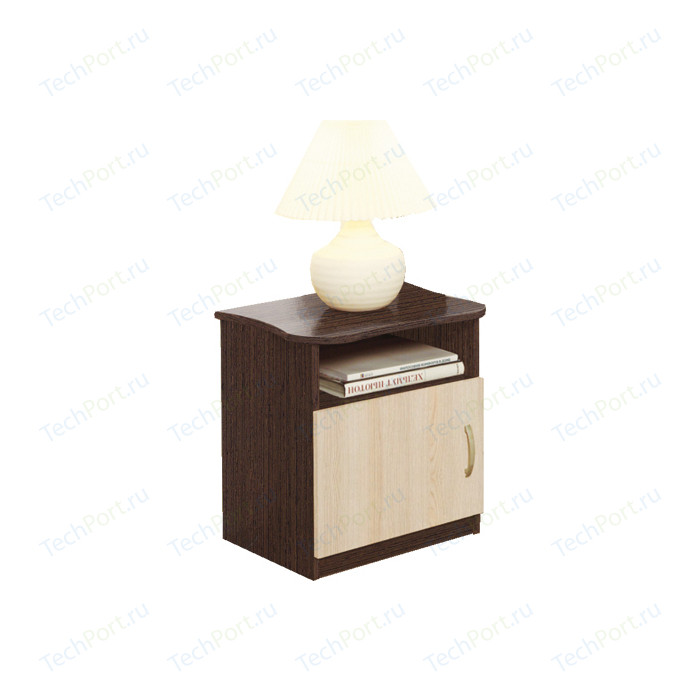Тумба Олимп Венге/дуб линдберг прикроватная тумба прикроватная модерн дуб гладстоун