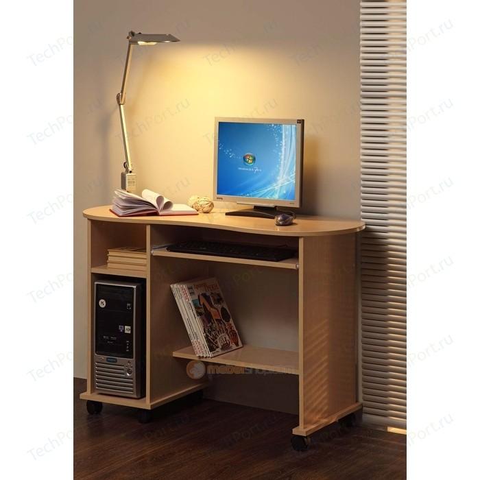 Стол компьютерный Олимп Костер - 3 дуб линдберг