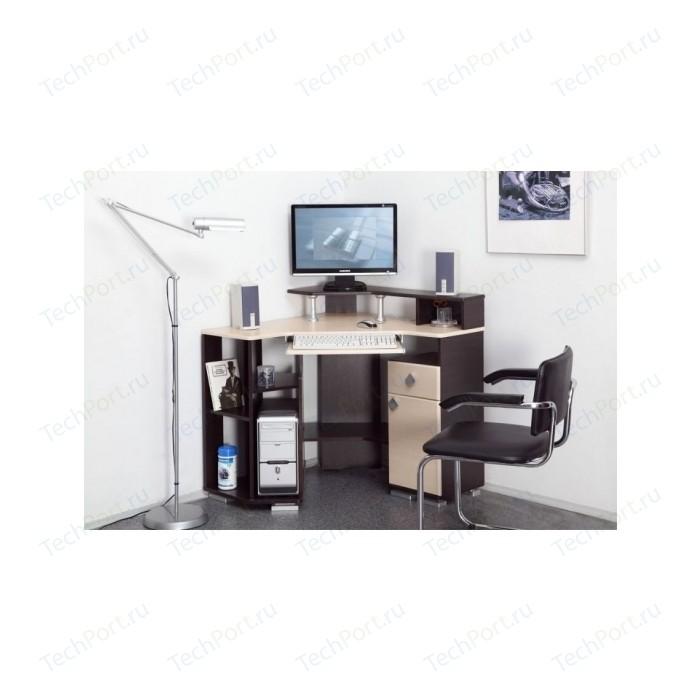 Стол компьютерный Олимп Coaster-7 венге/клен азия