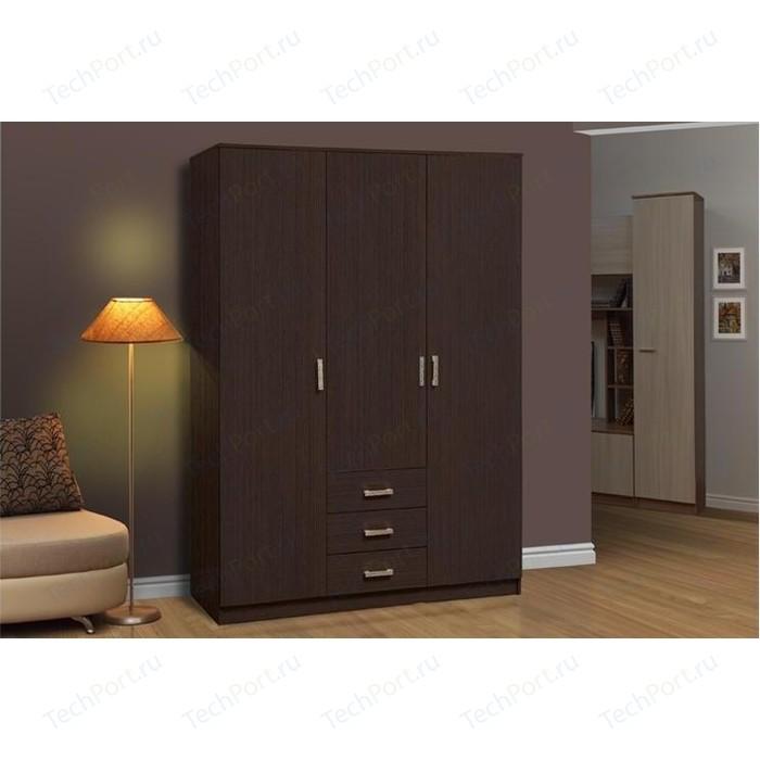 Шкаф комбинированный Олимп 06.291 венге