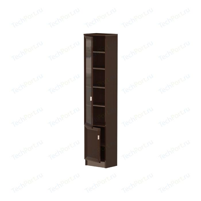 Шкаф Олимп В-17 дверь комбинированная венге