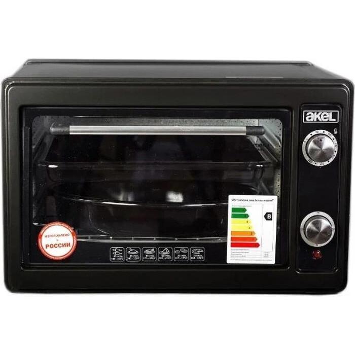Мини-печь AKEL AF 720 (черный)