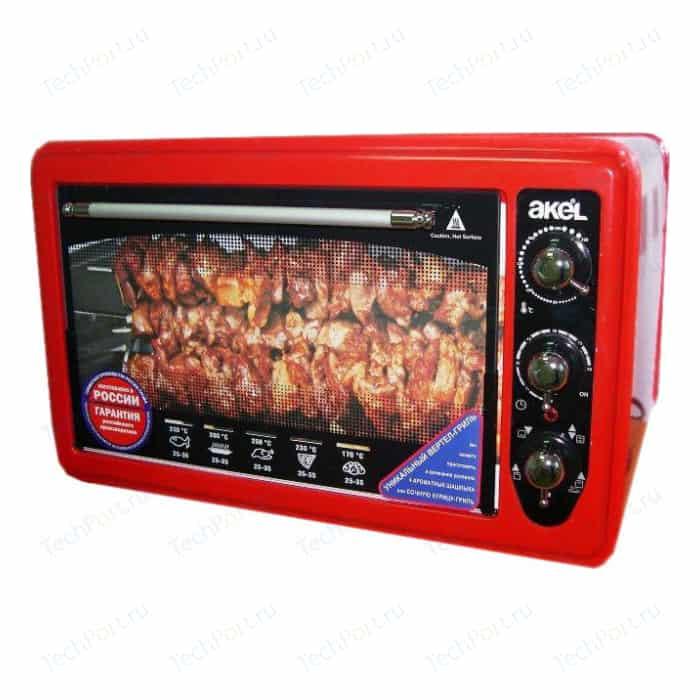 Мини-печь AKEL AF 740 (красный)