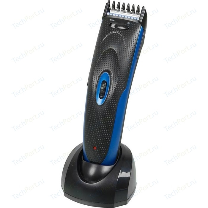 Фото - Машинка для стрижки волос Sinbo SHC-4354S, синий/черный машинка для стрижки волос rowenta tn1601f1 белый черный