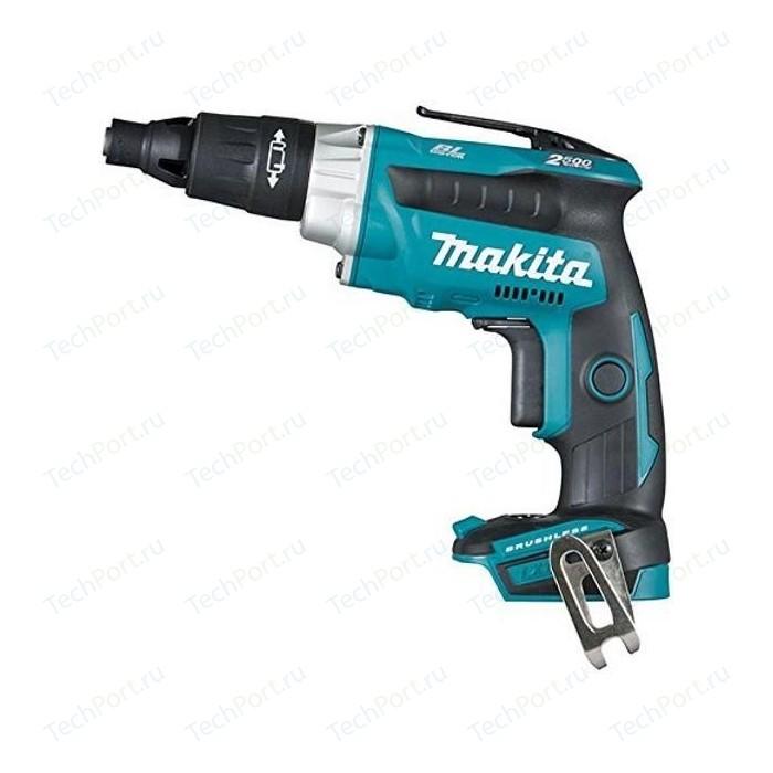 Аккумуляторный шуруповерт Makita DFS251Z аккумуляторный шуруповерт makita ddf083z 40 н·м синий черный