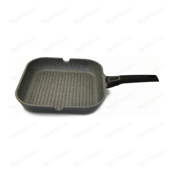 Сковорода-гриль Gipfel 28x28 см Batista (2685) сковорода гриль с крышкой и съемной ручкой agness 932 021 28x28 см