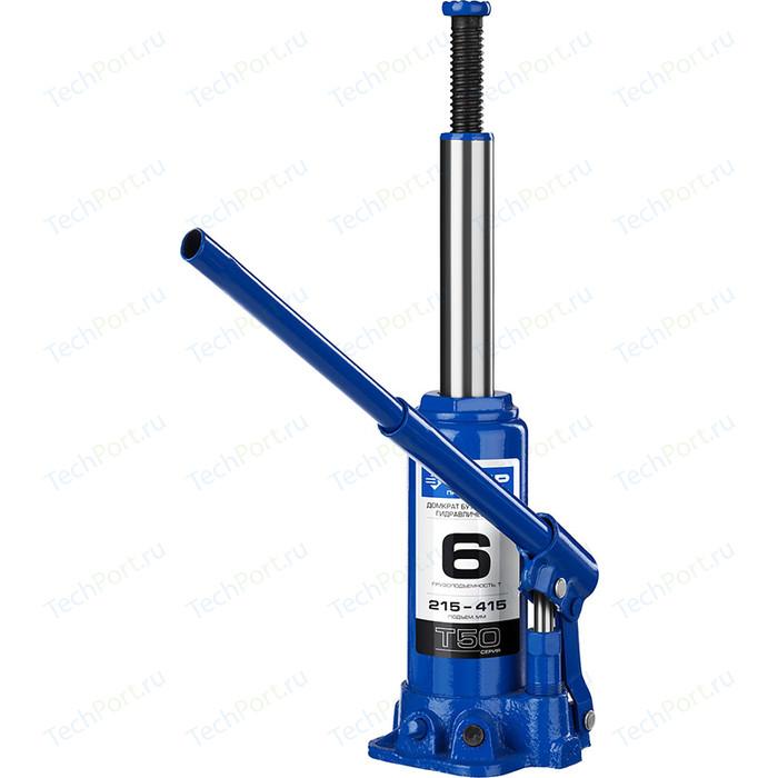 Домкрат гидравлический бутылочный Зубр 6т, T50 Профессионал (43060-6-z01)