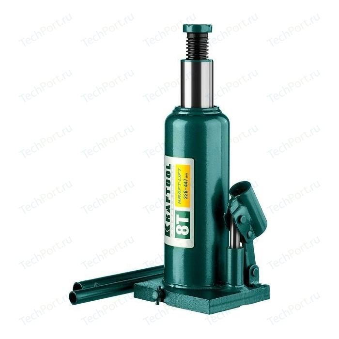 Домкрат гидравлический бутылочный Kraftool 8т, Kraft-Lift (43462-8-z01)
