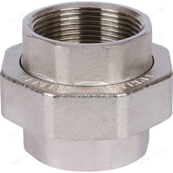 Муфта STOUT американка ВВ никелированное 1 1/2 (SFT-0034-000112)