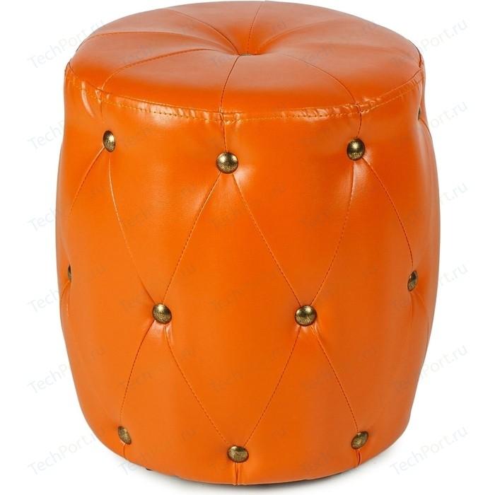 Пуф Вентал Арт ПФ-6 (круглый) оранжевый