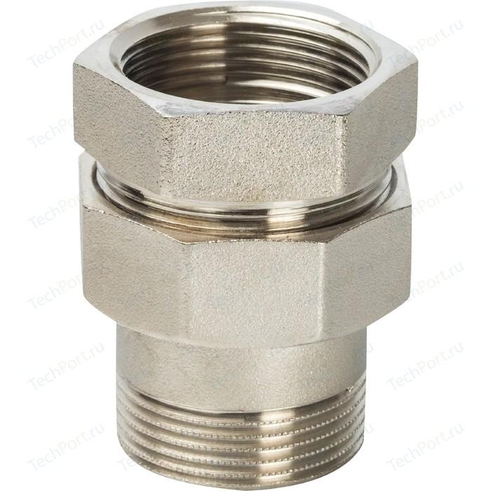 Муфта STOUT американка ВН никелированное уплотнение под гайкой o-ring кольцо 1 1/2 (SFT-0041-000112)