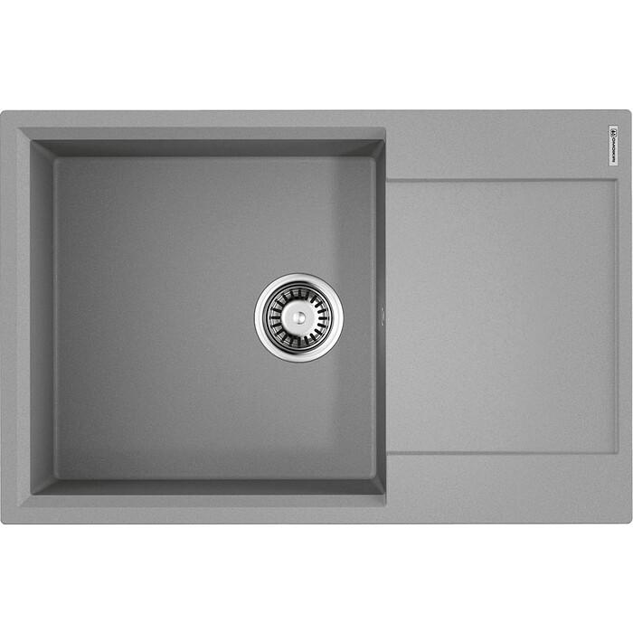 Кухонная мойка Omoikiri Daisen 78-LB-GR ленинградский серый (4993690)