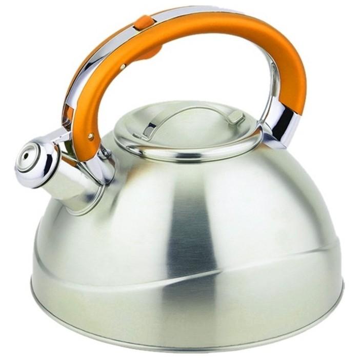 Чайник 3.0 л со свистком Teco (TC-109-Y) 401 1 tc чайник teco 1 1 л нерж сталь