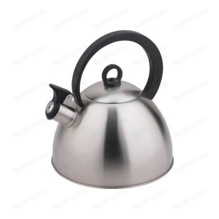 Чайник 2.8 л со свистком Teco (TC-111) чайник teco tc 106 r серебристый красный 3 л нержавеющая сталь