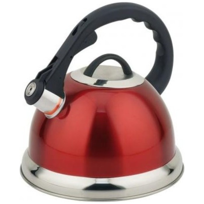 Чайник 3.0 л со свистком Teco (TC-115-R) 401 1 tc чайник teco 1 1 л нерж сталь