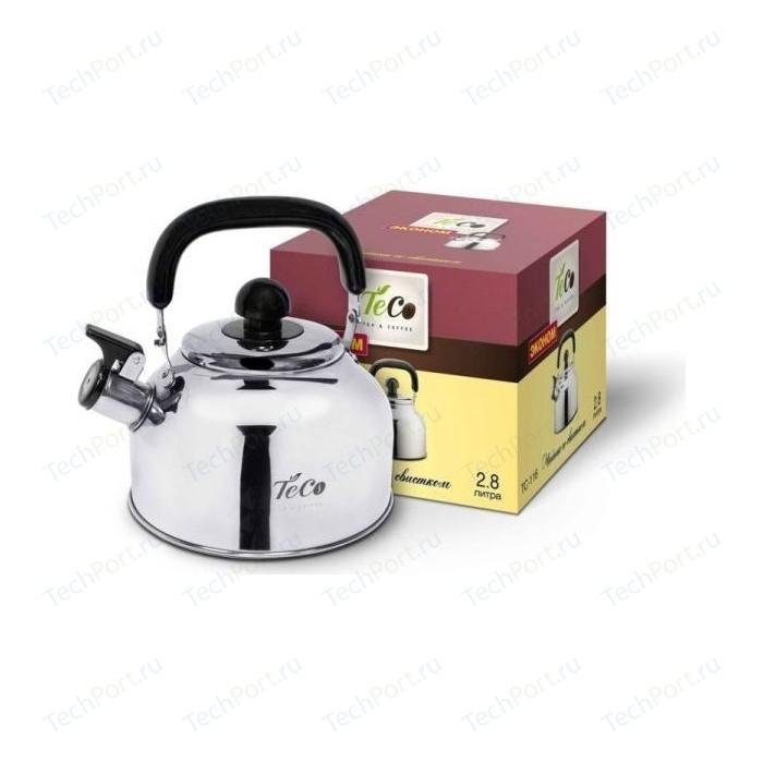 Чайник 2.8 л со свистком Teco (TC-116) недорого