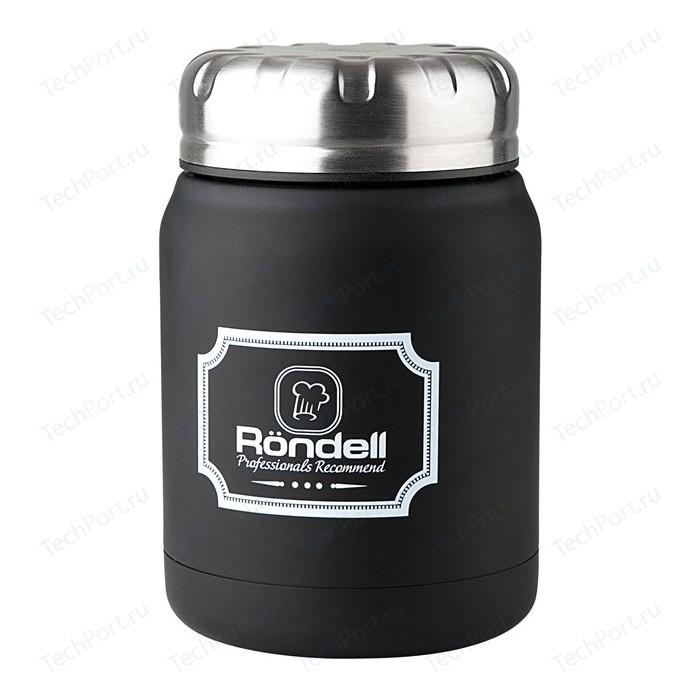 Фото - Термос для еды 0.5 л Rondell Black Picnic (RDS-942) термос rondell rds 425 bottle black 700ml