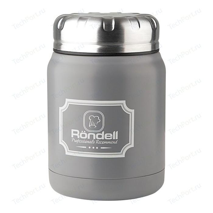 Термос для еды 0.5 л Rondell Grey Picnic (RDS-943)