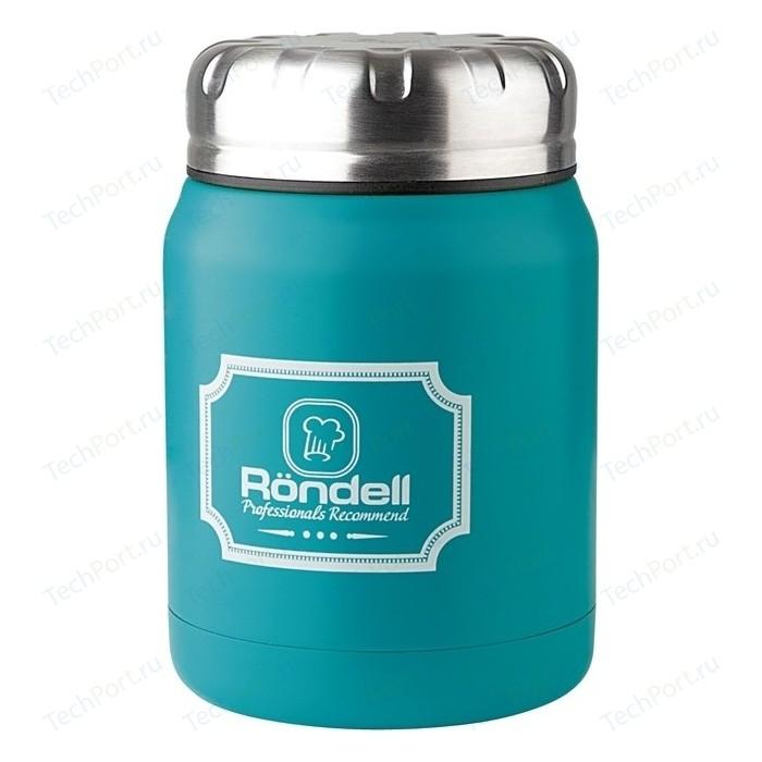 Термос для еды 0.5 л Rondell Turquoise Picnic (RDS-944)