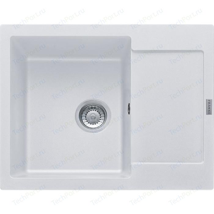 Кухонная мойка Franke Maris MRG 611-62 белый (114.0198.366)