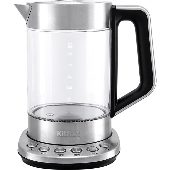 Чайник электрический KITFORT KT-622 чайник kitfort kt 632
