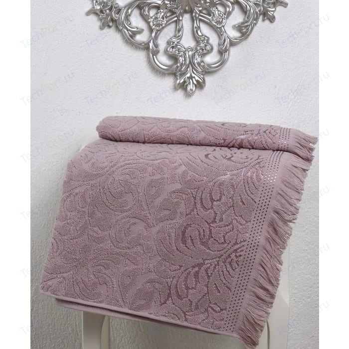 Полотенце Karna Esra 90x150 см грязно-розовый (2196/CHAR003)
