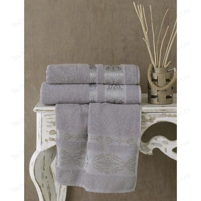 Полотенце Karna Rebeka 70x140 см серый (2658/CHAR015)