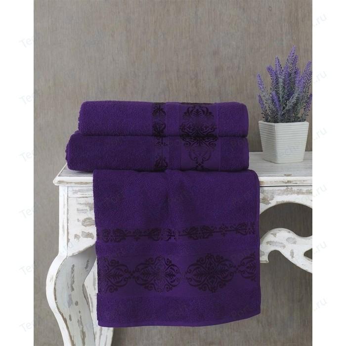 Полотенце Karna Rebeka 70x140 см фиолетовый (2658/CHAR019)