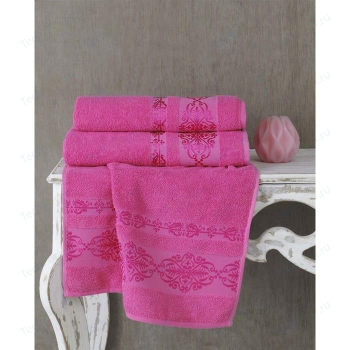 Полотенце Karna Rebeka 70x140 см розовый (2658/CHAR012)