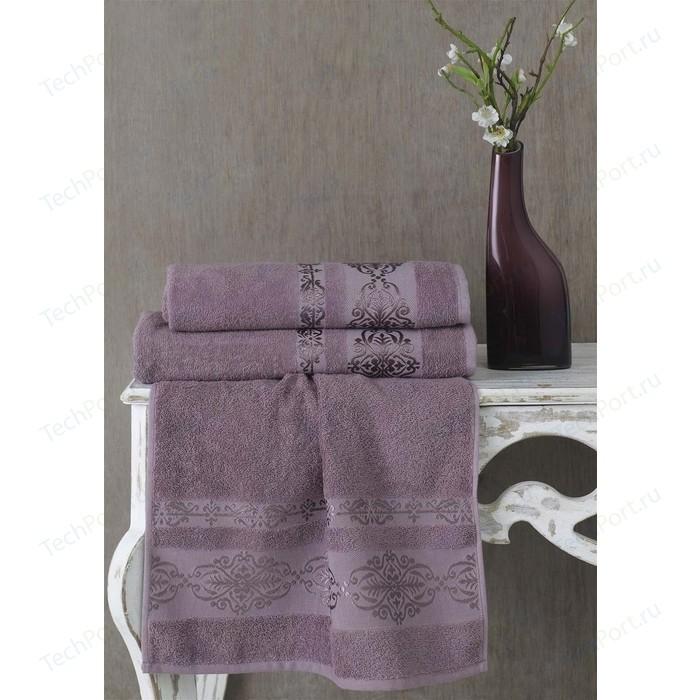 Полотенце Karna Rebeka 70x140 см светло-лаванда (2658/CHAR013) полотенце karna rebeka 70x140 см кофейный 2658 char008