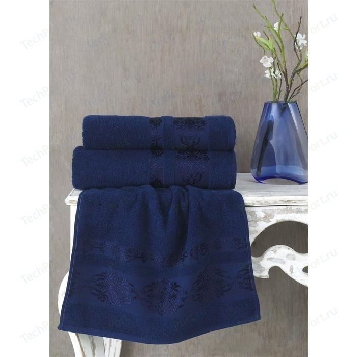 Полотенце Karna Rebeka 70x140 см синий (2658/CHAR016)