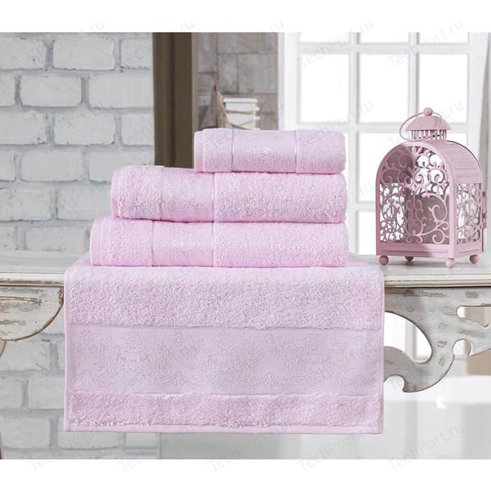 Полотенце Karna Pandora бамбук 90x150 см светло-розовый (2937/CHAR014)