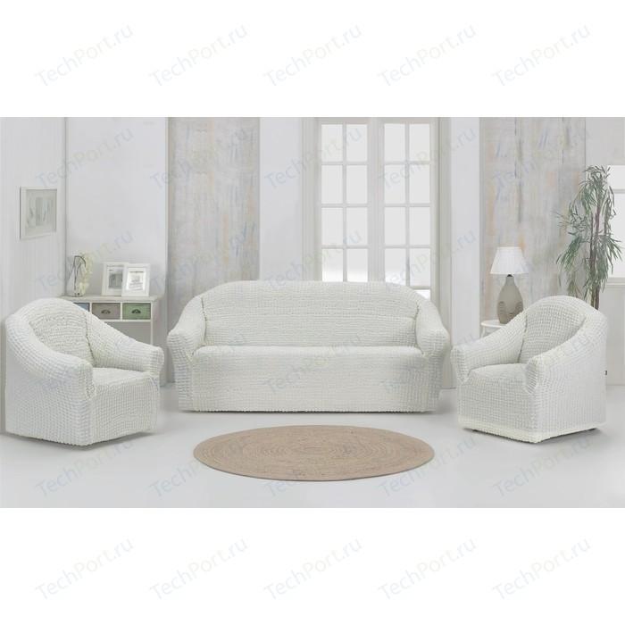 Набор чехлов для мягкой мебели 3 предмета Karna натурал (1780 /CHAR009)