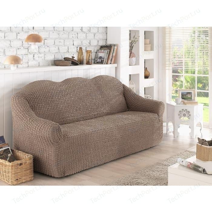 Чехол для двухместного дивана Karna кофейный (2651/CHAR004)