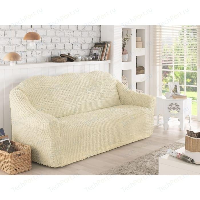 Чехол для двухместного дивана Karna кремовый (2651/CHAR005)