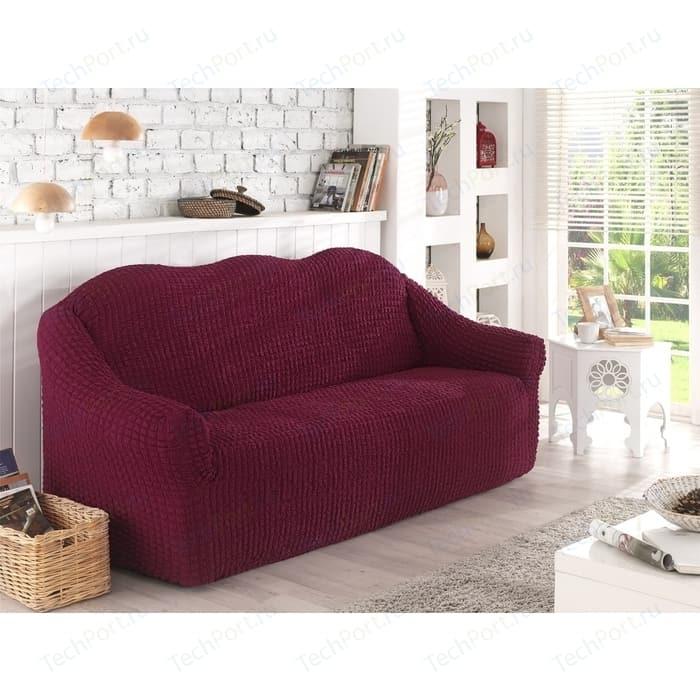 Чехол для двухместного дивана Karna бордовый (2651/CHAR002)