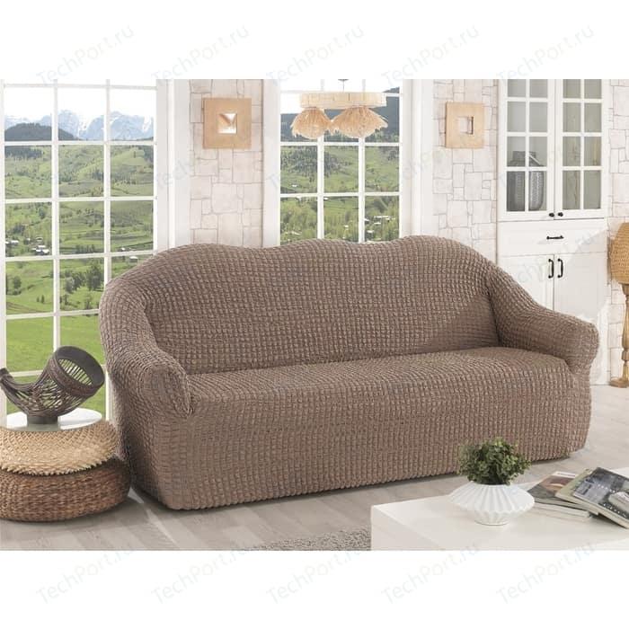 Чехол для трехместного дивана Karna кофейный (2652/CHAR004)