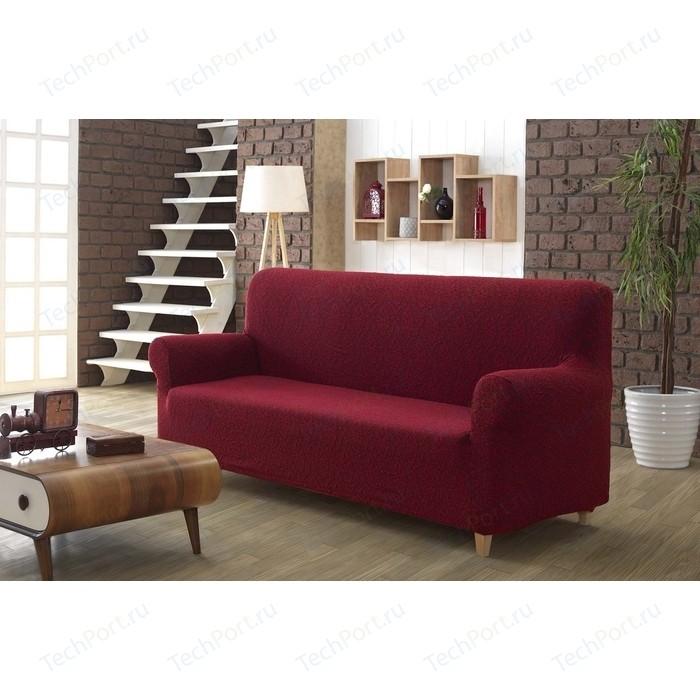 Чехол для трехместного дивана Karna Milano бордовый (2686/CHAR003)