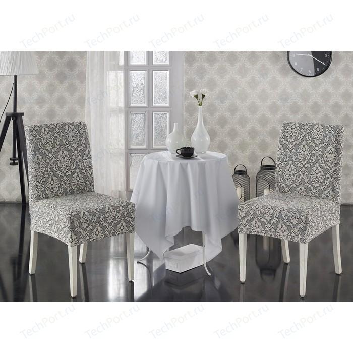 Чехлы на стулья 2 штуки Karna Milano натурал (2911/CHAR006)
