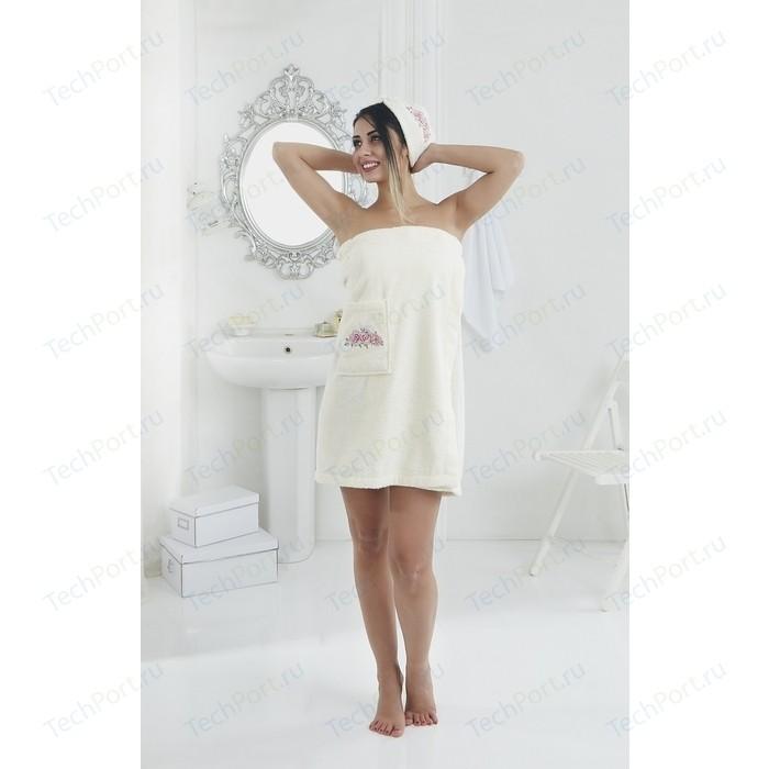 Набор для сауны женский Karna Pera кремовый (2607/CHAR002)