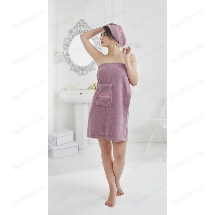 Набор для сауны женский Karna Pera фиолетовый (2607/CHAR006)