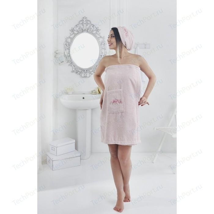 Набор для сауны женский Karna Pera розовый (2607/CHAR004)