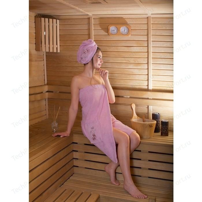 Набор для сауны женский Karna Arven розовый (2735/CHAR007)