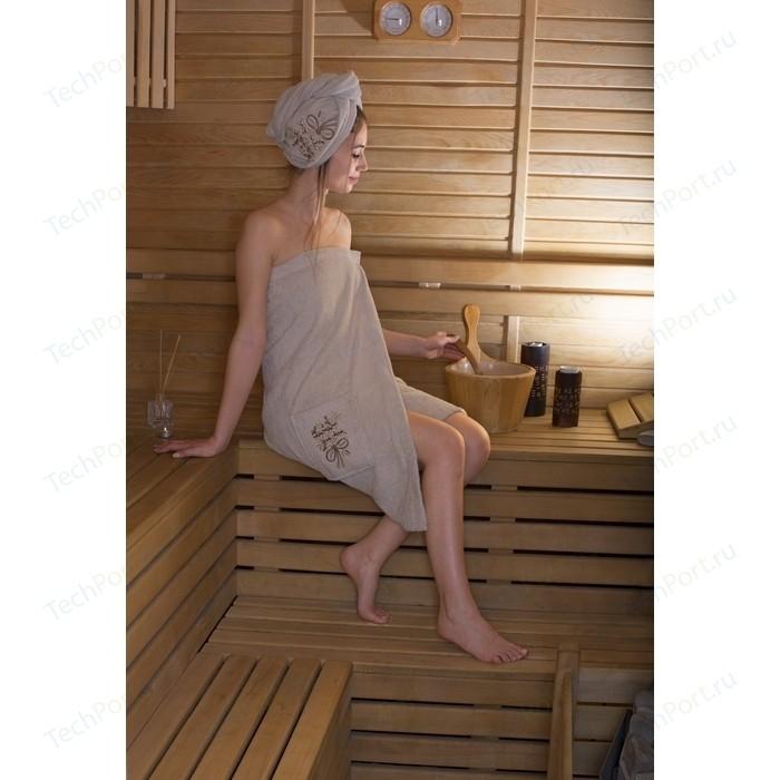 Набор для сауны женский Karna Arven молочный (2735/CHAR004)