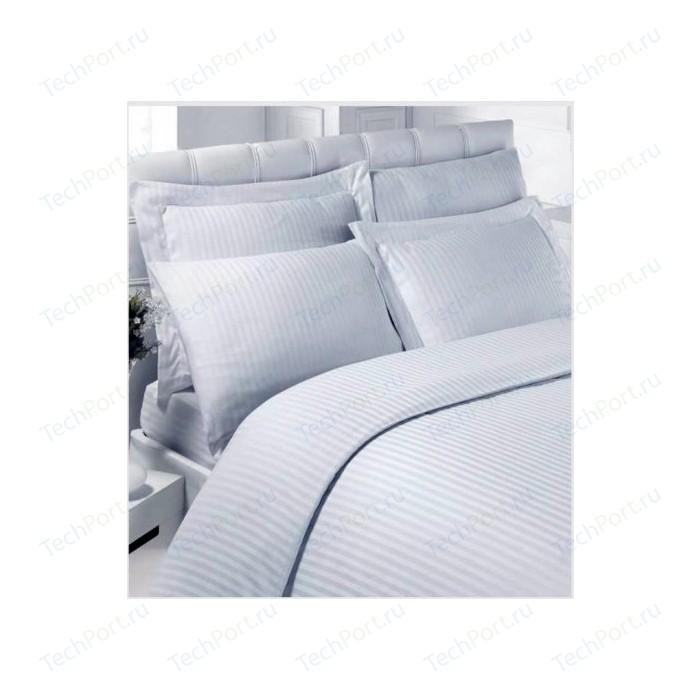 Комплект постельного белья Karna 1,5 сп, сатин, гостиничное (219/1)