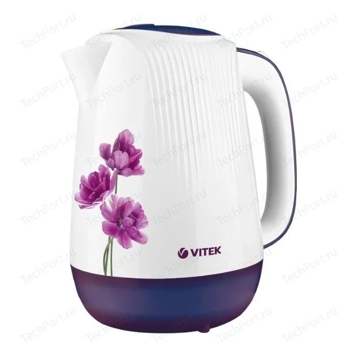 Чайник электрический Vitek VT-7061(MC) фен vitek vt 8229 mc