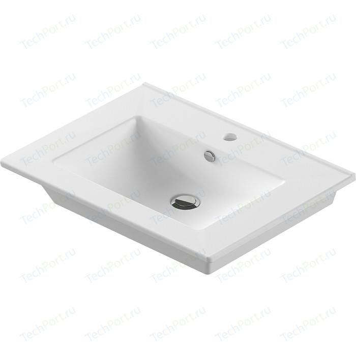 Раковина мебельная Sanita luxe Quadro 75 белый (QDR75SLWB01)